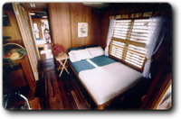 Forw. stateroom for 2 and helm